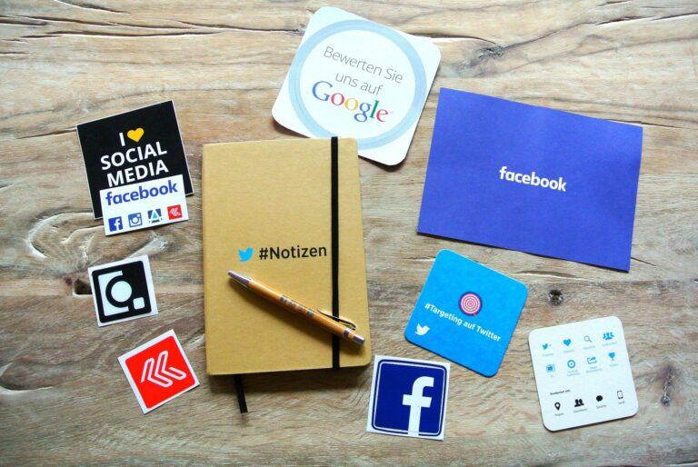 social media feed on website